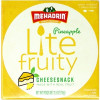 Lite Fruity Cheese Snack Pineapple