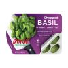 Chopped Basil Ovals