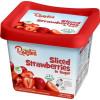 Sliced Strawberries In Sugar