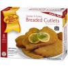 Chicken & Turkey Breaded Cutlets