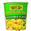 Vegetable Flavored Instant Noodle Soup Cup
