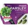 Chopped Parsley Ovals